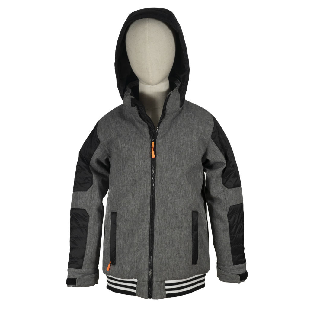 Customization Kids Girls and Boys Woven Softshell Rain Jacket Children Clothes Custom Rain Jacket