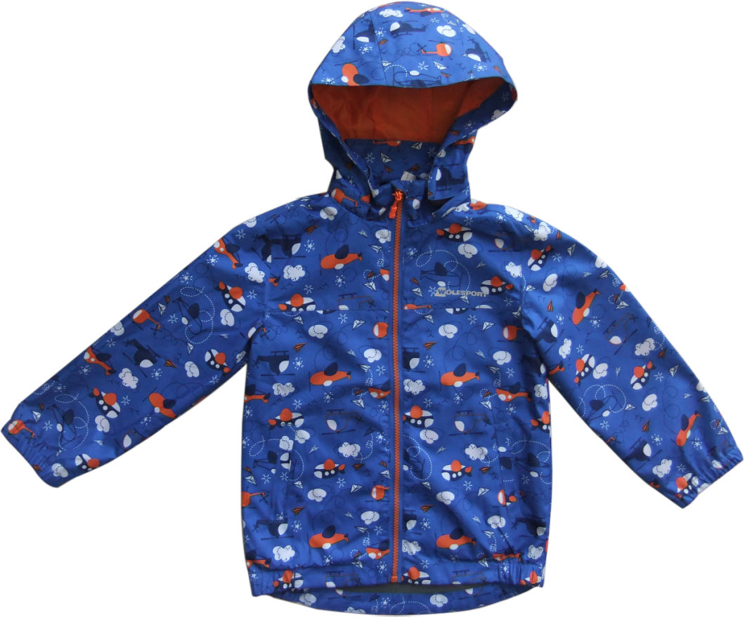 Fitness Sports Waterproof Softshell Jacket, High Quality Wind Kid Jacket