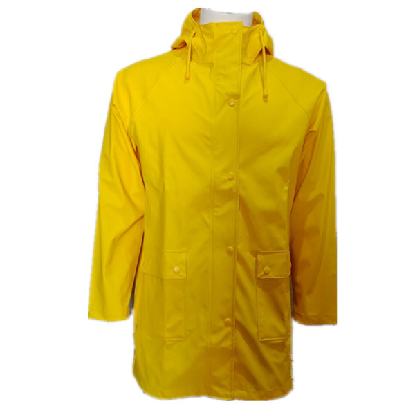 Waterproof Lightweight Outdoor Hooded Trench Coats Women's Raincoats Windbreaker Rain Jacket PU Jacket