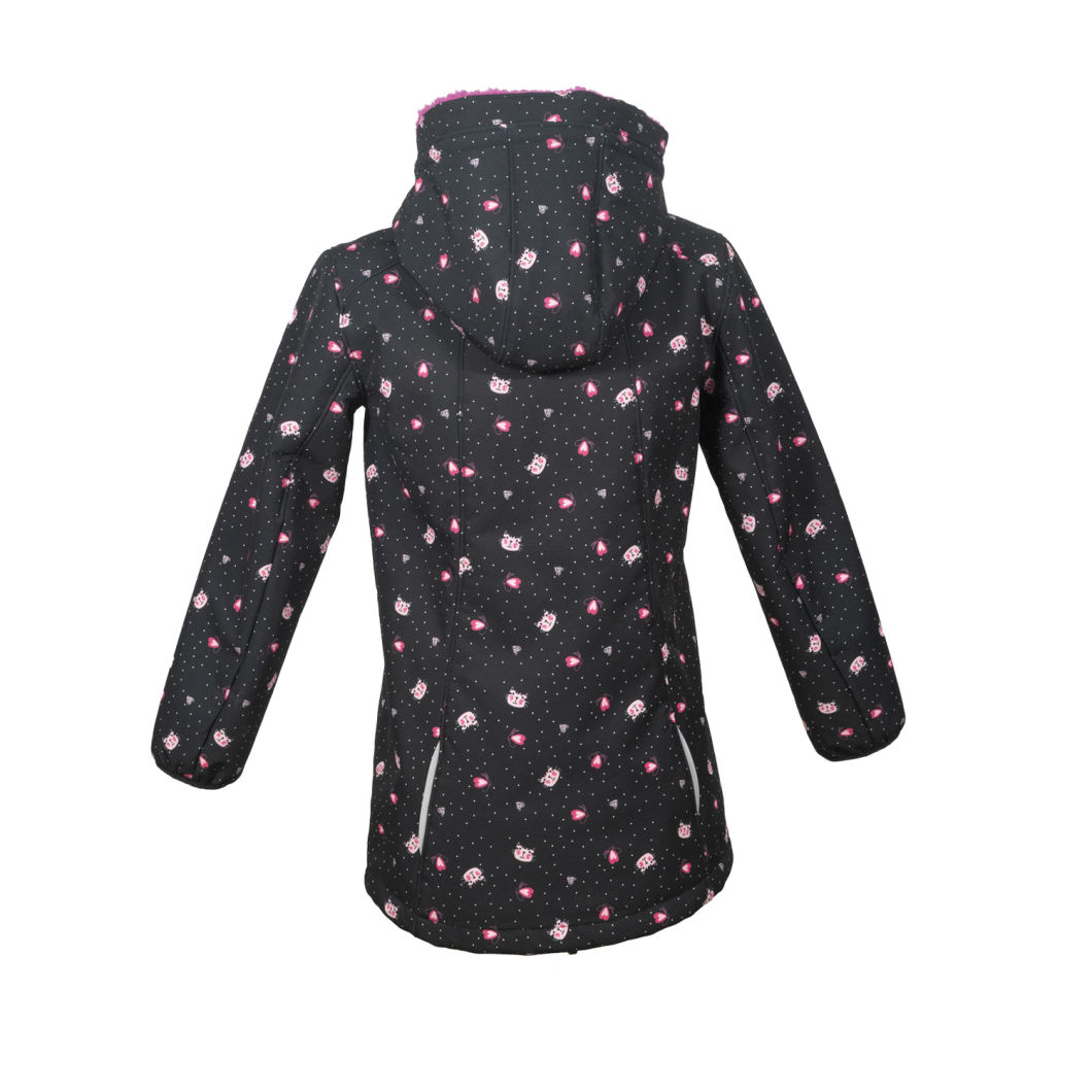 Wholesale Sportswear Kids Outdoor Clothes Children Softshell Jackets