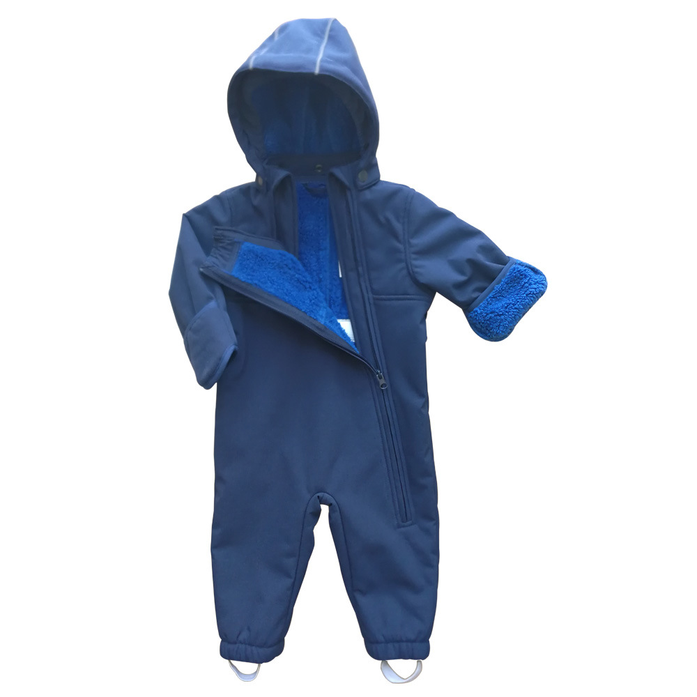 Customization Wholesale Children Clothes Kids Wears Baby Jumpsuit Boys and Girls Softshell Overall