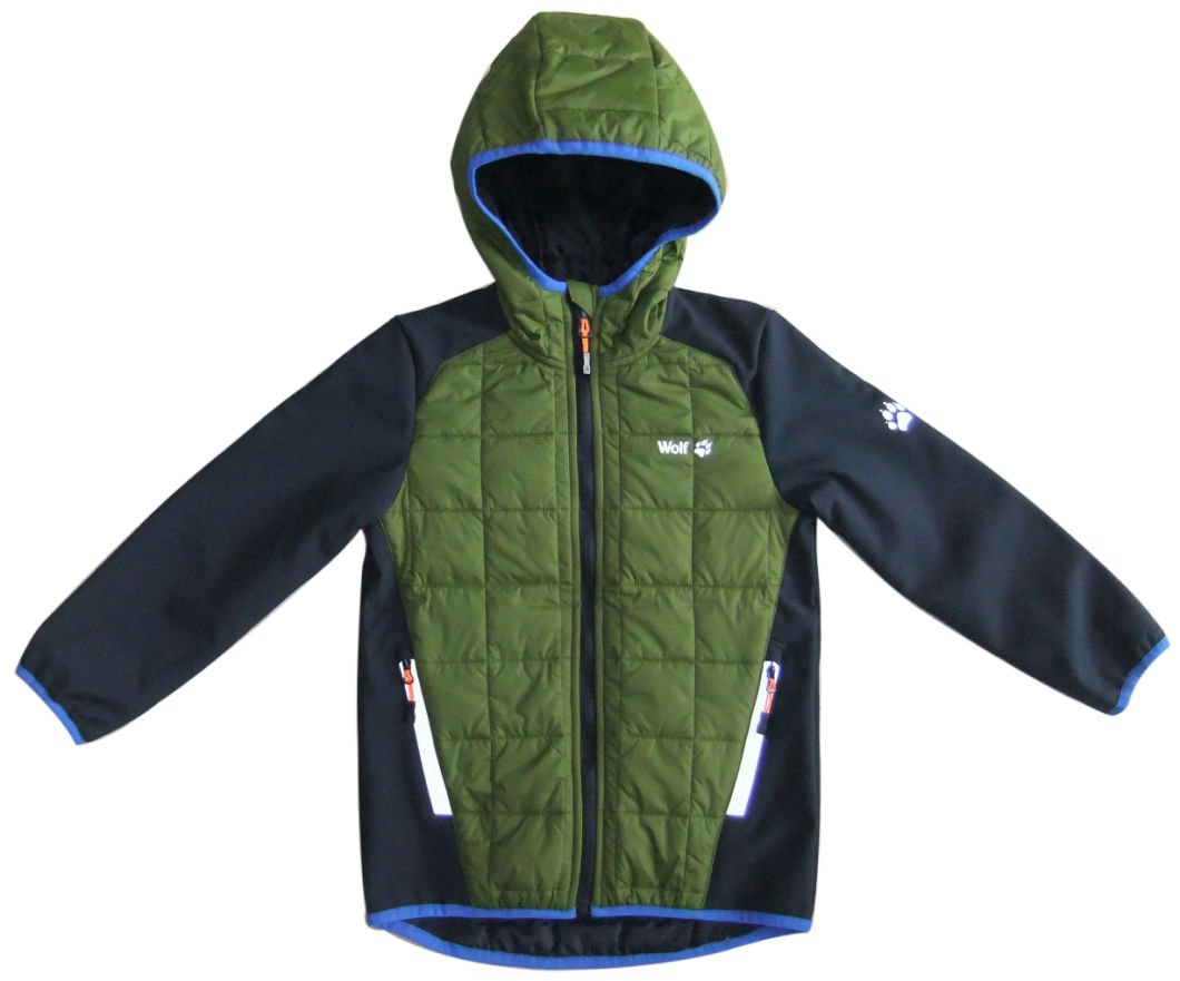 Wholesale Clothing Outdoor Softshell Winter Jacket Kid