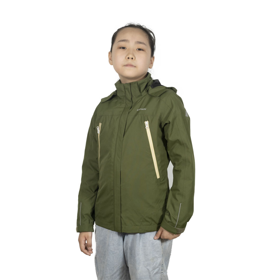 Winter Softshell Digital Camo Kids Varsity Jackets