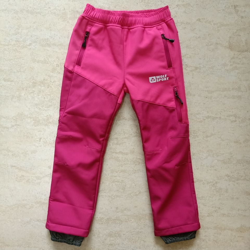 Wholesale Sportswear Kids Outdoor Clothes Children Softshell Pants