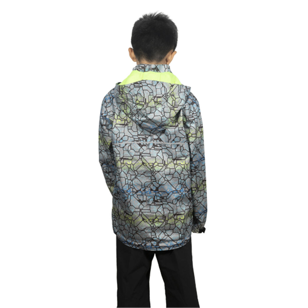 Wholesale Waterproof Windbreaker Kids Girls Thin Softshell Jacket /New Water-Repellent Windbreaker Pullover Jacket