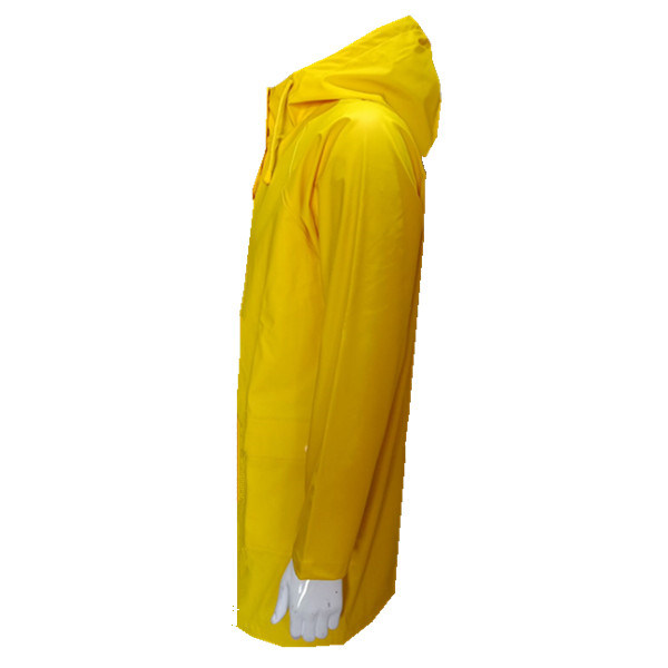 Reusable Custom Logo Polyurethane PU Rain Coat for Women